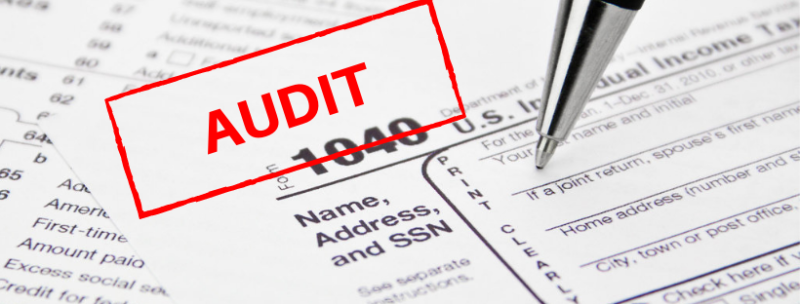irs audit on a form 1040